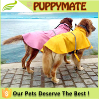 pet products/ pet waterproof comfortable dog raincoat for sale