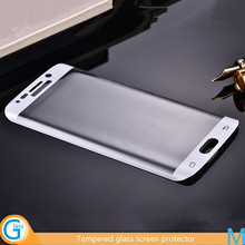 Tempered glass case cover for Samsung Galaxy S6 Edge
