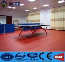 pvc table tennis floor mat pvc plastic floor