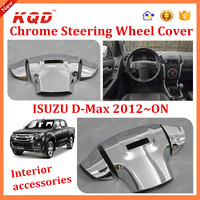 Interior accessories steering wheel cover Inch Wheel Covers for d-max isuzu2015 dmax d-max wheel cover