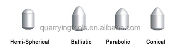 Mining and Quarrying Rock Drill Button Bits