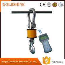 With quality warrantee international standard three hook type Safe wireless Crane Scale