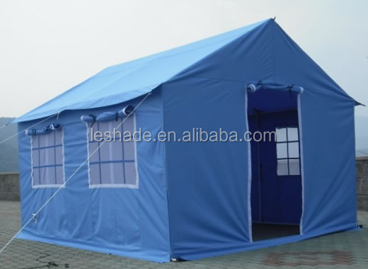 4x3m steel framed refuge tents