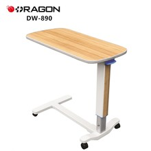 DW-890 Hospital Adjustable Luxury Overbed Table for patients