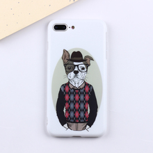 Factory Price fashion Sublimation Mobile phone cover IMD Emoji phone case for iPhone 6 / 7