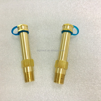 Brass Binder Point Test Plugs with Lengthened Type