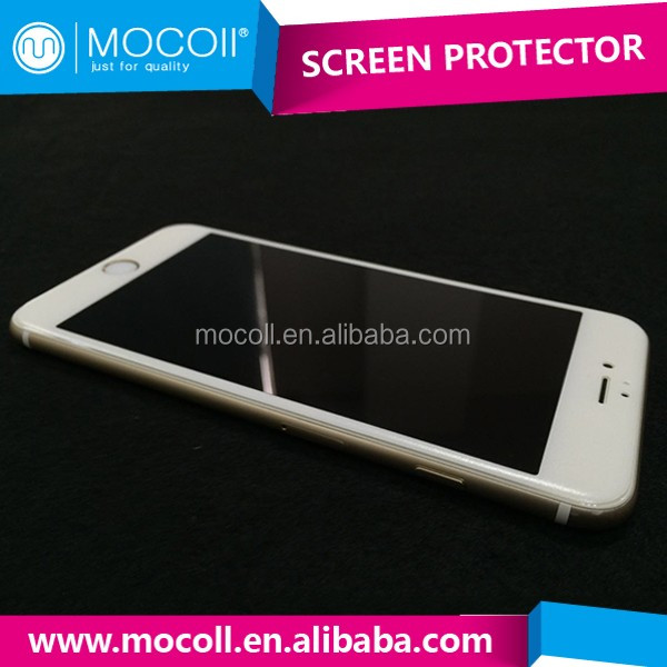 China wholesale merchandise anti-scratch liquid nano screen protector 3D soft edge for iphone 6/6s