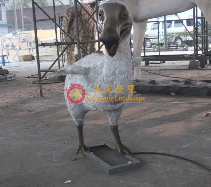 Life size animatronic animal Dodo bird