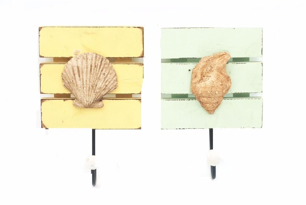 2017 vintage Ocean and lakes sea shell theme beautiful summer decorative shell plaques