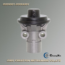 cast aluminum variable flow pump housing