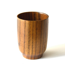 High Quality Wood Mug Coffee Tea Drinking Cup Beer Mugs Eco-Friendly Japanese Tableware Wooden Cups