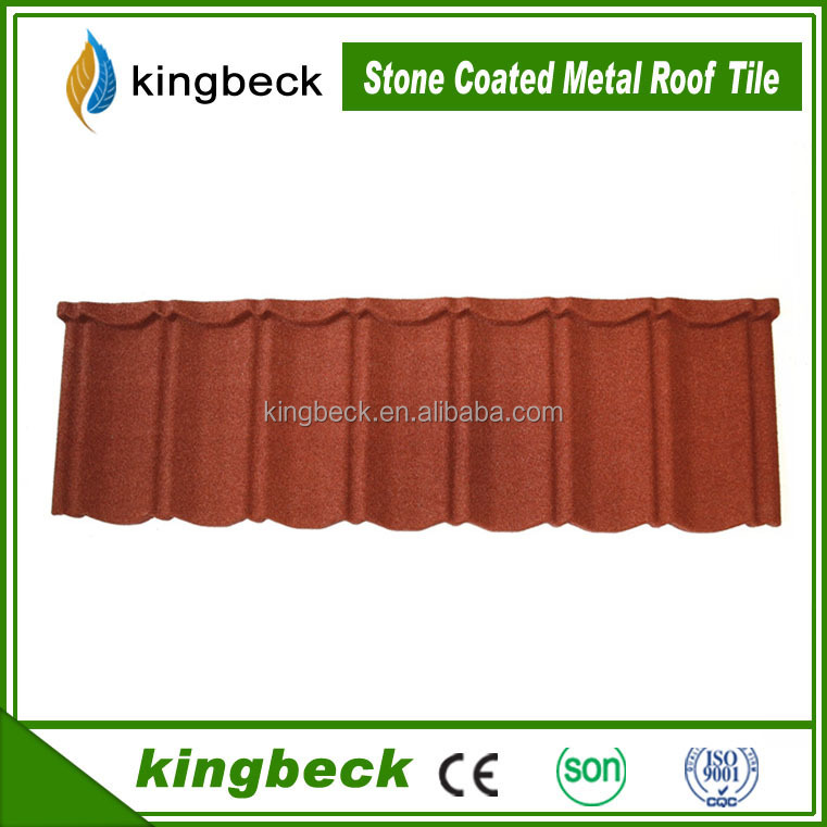 Mega March Sourcing Kingbeck Roofing Classic Tile 01 Color Stone Coated Roofing Shingles