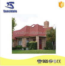 Asian Style Garden House Grey Unglazed roof tile