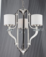 CE approved top sale modern fabric chandelier for European market