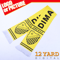 cheap factory directly sale Argentina national football club 100% polyester soccer League scarves