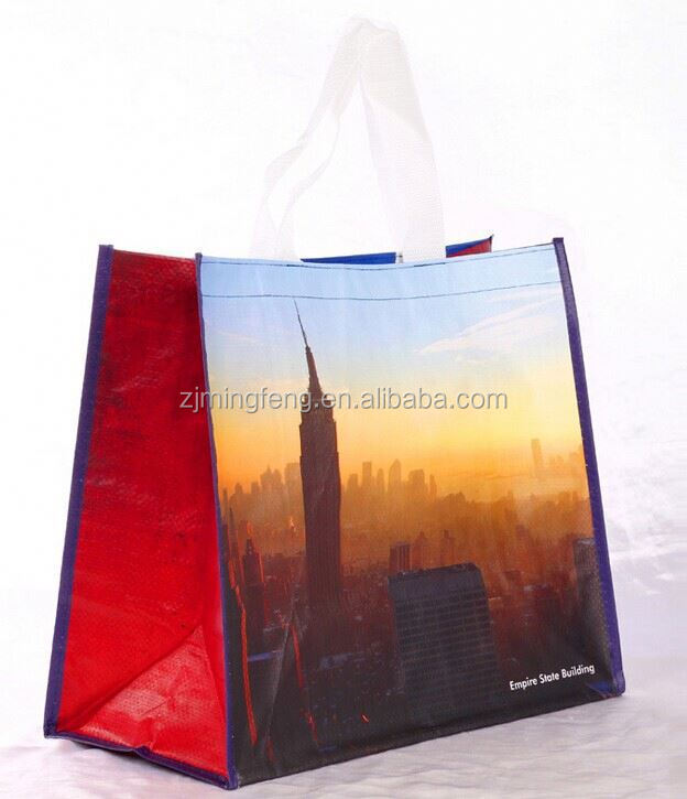 2015 new style / available reusable pp woven bag