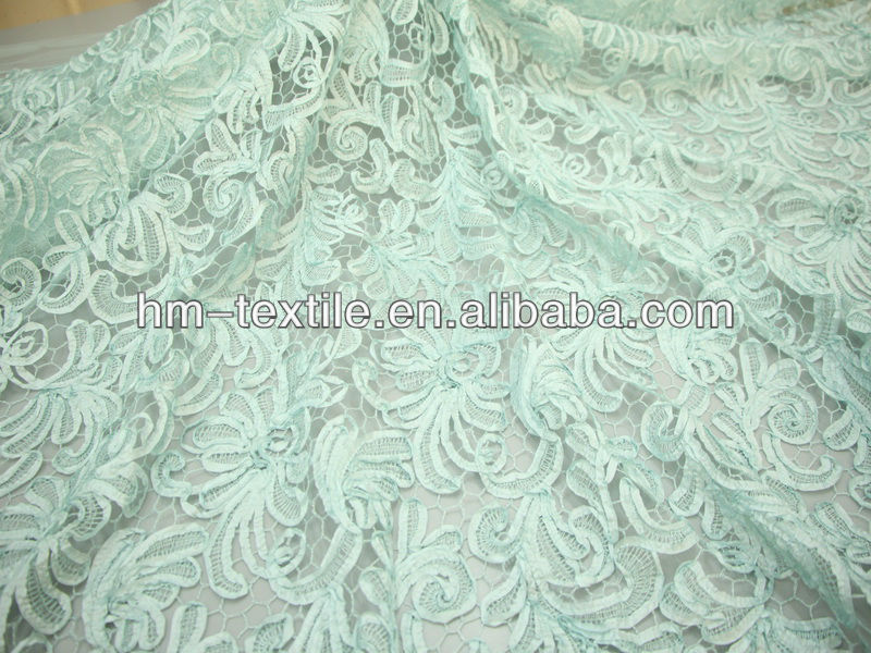 white taffeta ribbon embroidery fabric mesh fabric