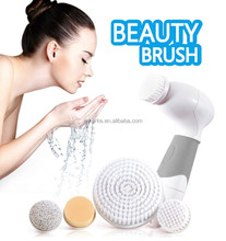 Hot skin washing facial cleansing <strong>brush</strong> face electric round <strong>brush</strong>