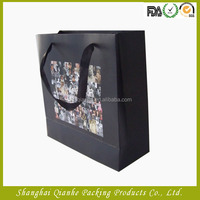 black candle bag matte