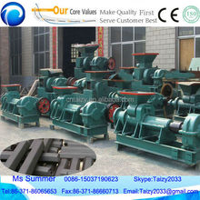 hollow cylinder shape charcoal briquette making machine