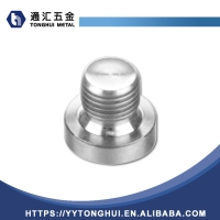 117 New Type Top Sale Stainless Steel Npt Male Threaded Hex Head Plug