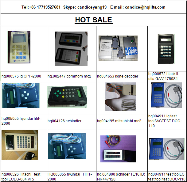 All Brands Of Elevators Service Tool , Elevator Tool , Lift Spare Parts