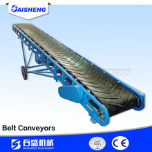 Baisheng Mineral Mobile Belt Conveyor For Aggregated with Adjustable Height