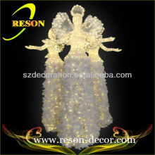 Outdoor Christmas lighting hanging fairy angel decor