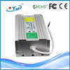 Adjustable voltage power supply IP67 80W 12V 6.5A auto switching power supply led driver case ac/ac CE RoHs FCC free shipping