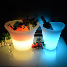 Barware Beer Ice Bucket Bar Led Ice Bucket Table