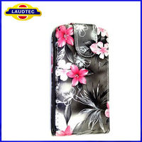 Hot Selling Mobile Phone Case,Floral Flip Leather Case Cover for Samsung Galaxy S Advance i9070