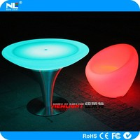 China supply hot sale lighting LED flashing cocktail bar table