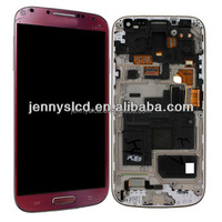 High quality For Samsung S4 mini red LCD digitizer