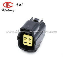 Kinkong Tyco/Amp 4 Pin Female Automotive Electrical Plug Waterproof Wire Auto Connector With Pin And Seal 174257-2