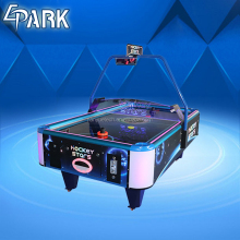 EPARK Portable stars table top arcade square coin operated air hockey table cheap game machine