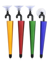 Promotional cheap write smooth umbrella shaped small touch pen