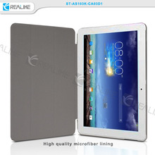 multi-angel veiw leather tablet case for ASUS, PC hard shell tablet case