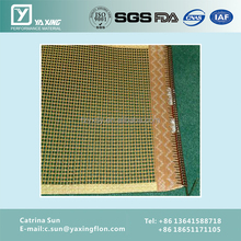 on stick surface glass fiber open kevlar belt