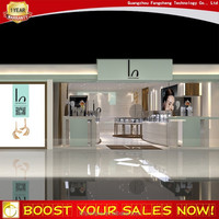 Jewelry store display cases and jewelry storage cabinet