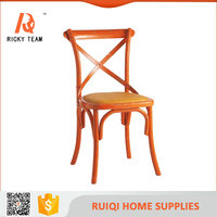Rattan wood restaurant dining table and chair furniture, chairs for the restaurant