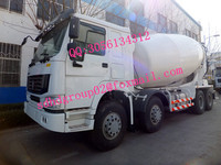 hot sale hongda produced concrete mixer truck from 6m3 to 16m3 concrete mixer truck