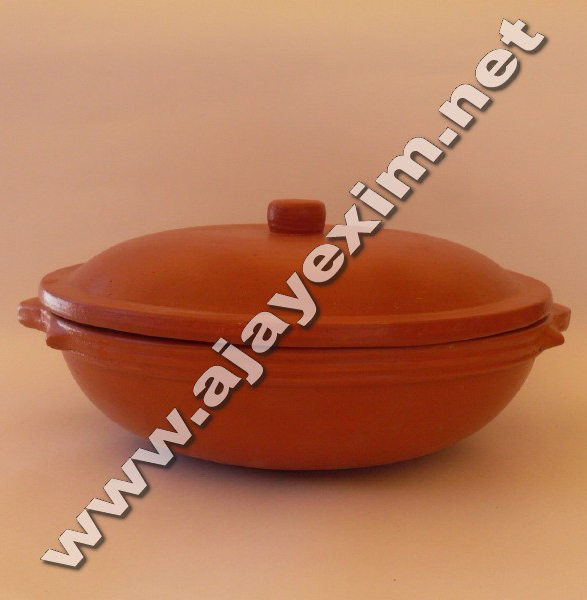 Handmade Clay Cooking Indian Pot