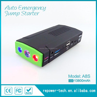 Factory Offer Classic Model Jump Start Car Barrery Power Bank with Dual USB & Three LED