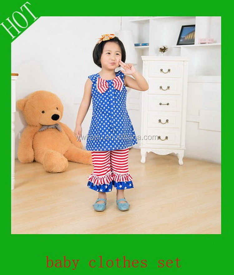 2015 baby girl fashion boutique de ropa, Girls ruffle pantalones outfit, Infant clothes
