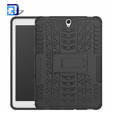 High Quality 2 in 1 Dual Slim Armor TPU&PC Kickstand Rugged Case Back Cover For Samsung Galaxy Tab S3 9.7 T820