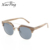 2018 New Custom Half Frame Men Women Wooden Sun Glasses