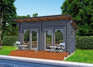 Small Prefabricated Log Cabin Homes