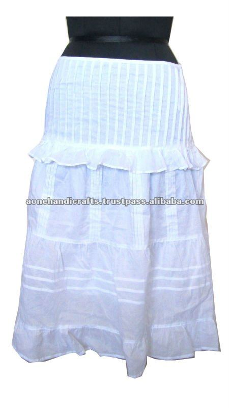 Designer Ladies Skirt, Mid length Skirt, Ladies Skirt