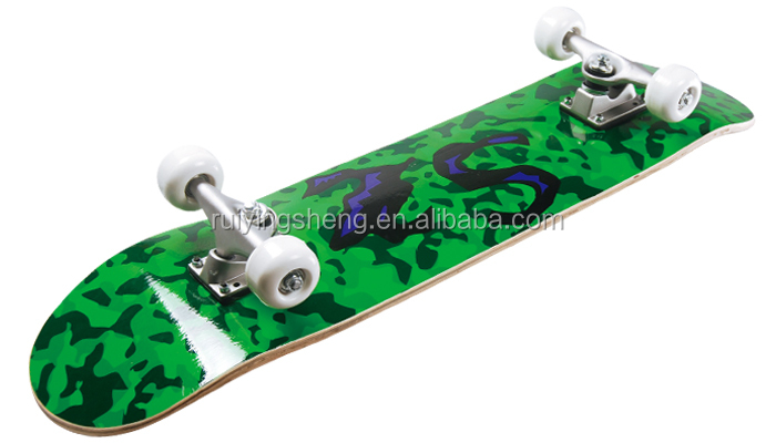 24*6 inch 9 ply chinese maple Skateboard