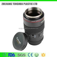 Hot Sale Product Stainless Steel Water Bottle, Camera Lens Cup, Travel Mug